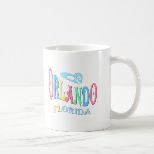 Orlando la Florida Taza