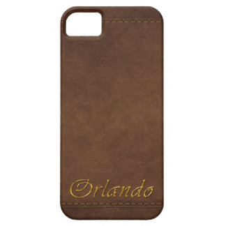 ORLANDO Leather-look Customised Phone Case