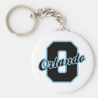 Orlando Letter Keychain