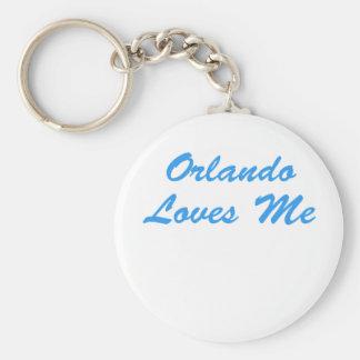 Orlando Loves Me Keychain