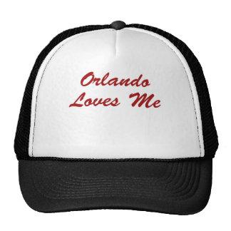 ¡Orlando me ama!!! Gorro