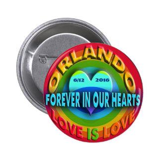 Orlando Memorial Pinback Button