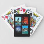 Orlando, Miami, South Beach Collage Bicycle Card Decks