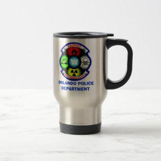 Orlando PD Hazmat1, ORLANDO POLICE DEPARTMENT Travel Mug