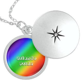 Orlando Pride Sterling Silver Necklace
