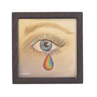 Orlando Rainbow Teardrop by Carol Zeock Gift Box