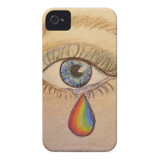 Orlando Rainbow Teardrop by Carol Zeock iPhone 4 Cover