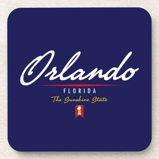 Orlando Script Beverage Coaster