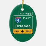 Orlando, señal de tráfico de FL Ornamente De Reyes