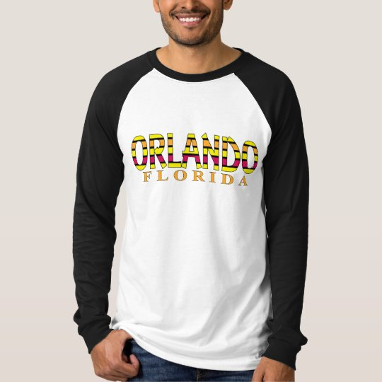 Orlando Sunshine Stripe T-Shirt
