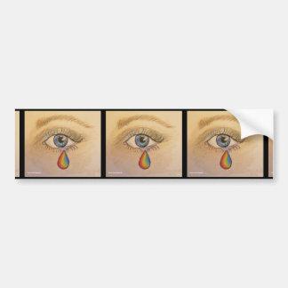 Orlando Tear Bumper Sticker by Carol Zeock