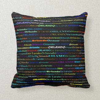 Orlando Text Design I Throw Pillow