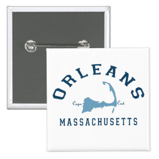 Orleans Cape Cod. Pinback Button