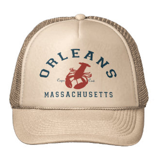 Orleans Cape Cod. Trucker Hat