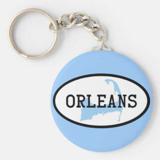 Orleans, MA Cape Cod Keychain