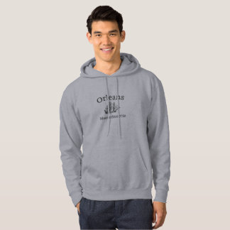 Orleans Massachusetts Tall Ship Hoodie Sweatshirt