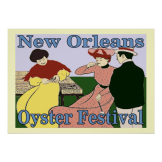 Orleans Oyster Festival Poster