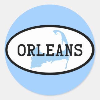 Orleans, pegatina del mA Cape Cod