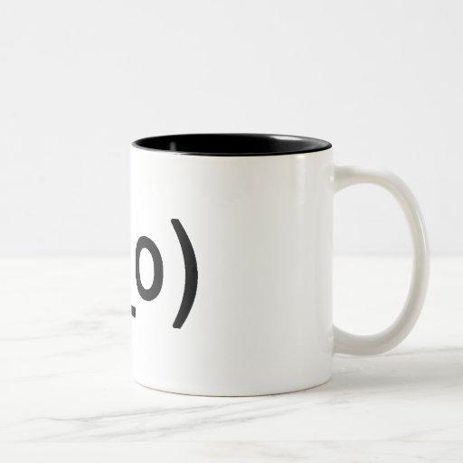 ORLY face mug (two tone)