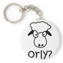 Orly Sheep Keychain