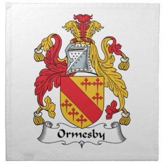 Ormesby Family Crest Napkins