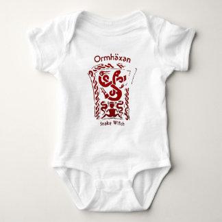 Ormhäxan Snake Witch Rune Baby Bodysuit