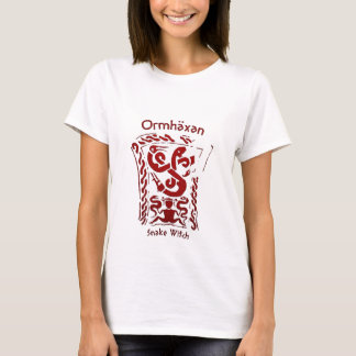 Ormhäxan Snake Witch Rune T-Shirt