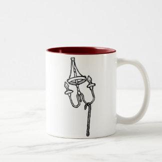 """Ormolu Chandelier And Walking Stick"" Coffee Mug"