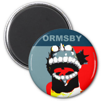 Ormsby Campaign Magnet Round