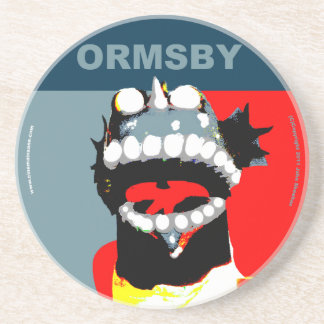 Ormsby Campaign Style Coaster