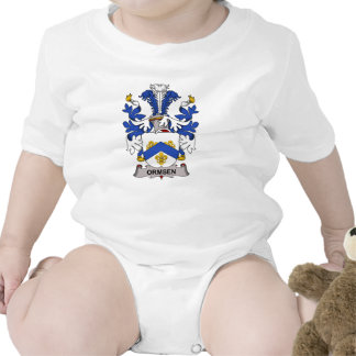 Ormsen Family Crest Tee Shirts