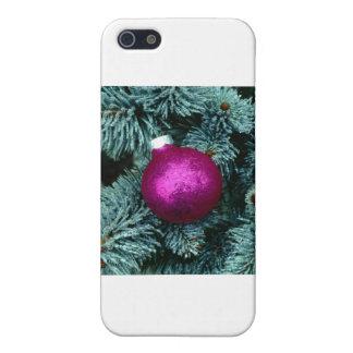 Orn púrpura iPhone 5 protectores