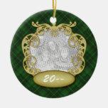 Orn Round Temp Swirls Ornaments