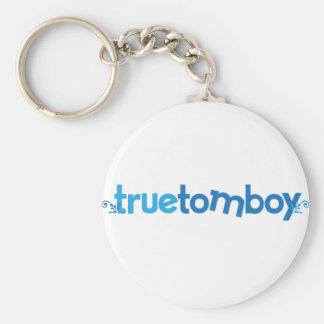 Orna True Tomboy Basic Round Button Keychain