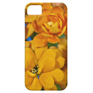 Ornage kalanchoe flowers iPhone SE/5/5s case