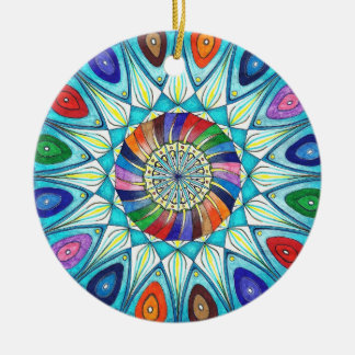 Ornament abstract mandala drawing