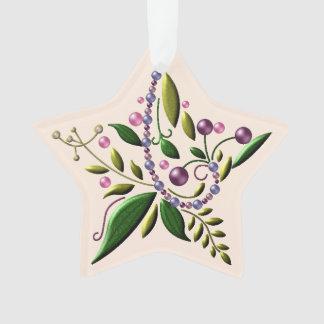 Ornament - Acrylic - Tuscan Star of Christmas