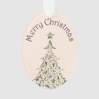 Ornament - Acrylic - Tuscany Tree