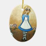 Ornament Alice in Wonderland