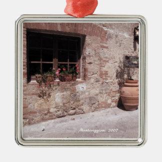 Ornament -  Along a  Street in Monteriggioni