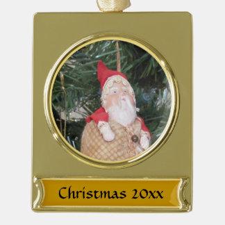 Ornament - Antique Santa and Text