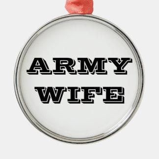 Ornament Army Wife