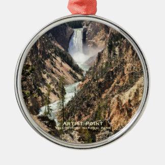 Ornament: Artist Point (Premium Round)