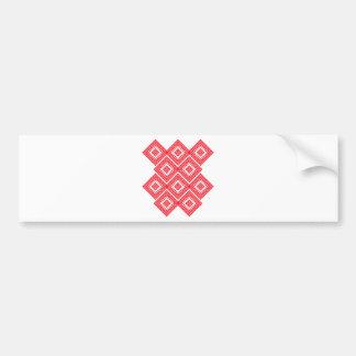 Ornament Bumper Sticker