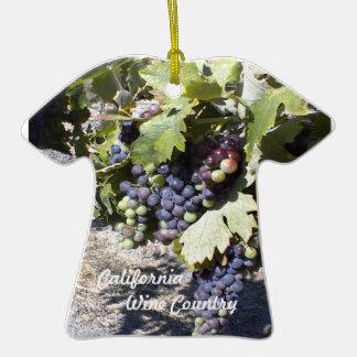 Ornament: California Wine Country Grape Clusters