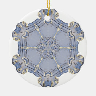 Ornament - Ceramic - Digital Snowflake 1