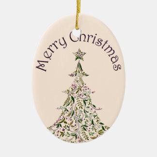 Ornament - Ceramic - Tuscany Tree