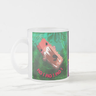 Ornament_Chompsters_12, proKeds_lowTop_heel, Or... Frosted Glass Coffee Mug
