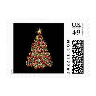 Ornament Christmas Holiday Tree Stamp