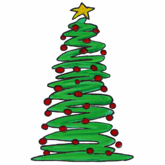 Ornament - Christmas Tree Photo Cut Outs